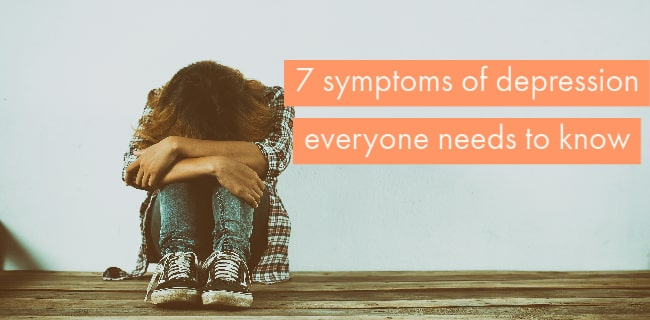 symptoms of depression everyone needs to know